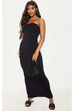 PRETTYLITTLETHING Women Strapless Dresses - Basic Bandeau Maxi Dress