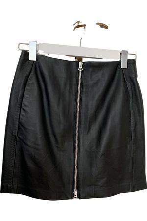 RAG&BONE Leather mini skirt