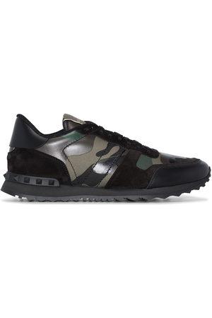 VALENTINO GARAVANI Rockrunner Camouflage low-top sneakers
