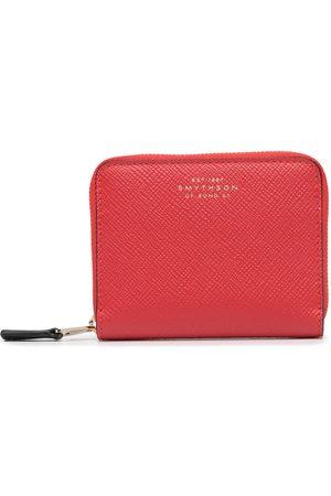 SMYTHSON Small Panama zip-around wallet