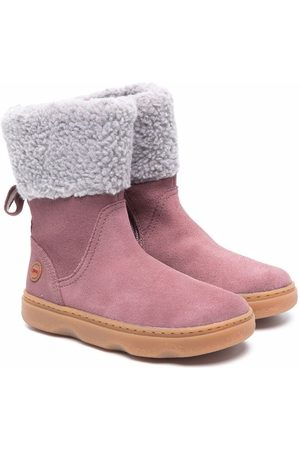 Camper Girls Snow Boots - Kido faux-shearling boots
