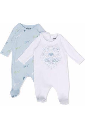 Kenzo Bodysuits & All-In-Ones - Logo print organic cotton babygrow
