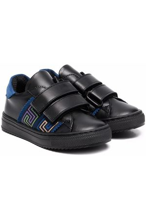 VERSACE Boys Sneakers - Greca Ribbon touch-strap sneakers
