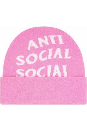ANTI SOCIAL SOCIAL CLUB Jaccardo knitted beanie hat