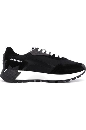 Dsquared2 Men Sneakers - Logo-print suede trainers