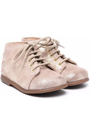 Pom d'Api Ankle Boots - Glitter lace-up ankle boots