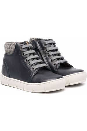 Pom d'Api Lace-up leather boots