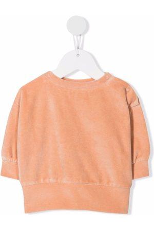 We Are Kids Velour peach sweatshirt