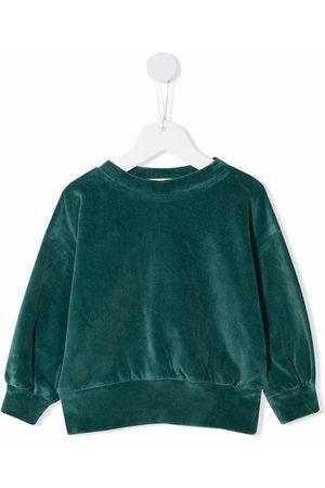 We Are Kids Velour teal sweatshirt