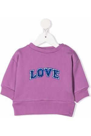We Are Kids Love embroidered sweatshirt