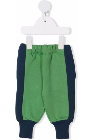 We Are Kids Baby Leggings - Colourblock elasticated trousers