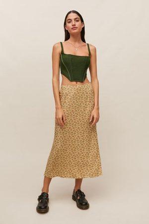 Motel Tindra Midi Slip Skirt