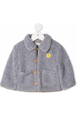 Bobo Choses Faux-shearling design jacket - Grey