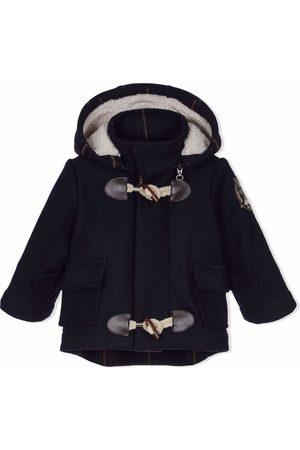 Lapin House Boys Duffle Coat - Hooded wool duffle coat
