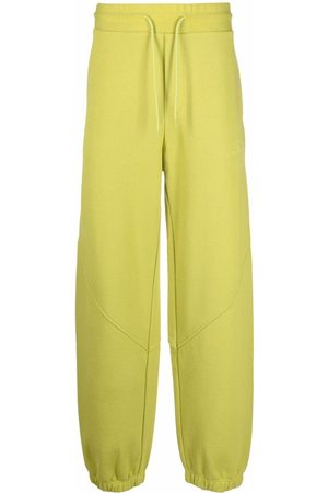 Msgm Logo-embroidered cotton track pants