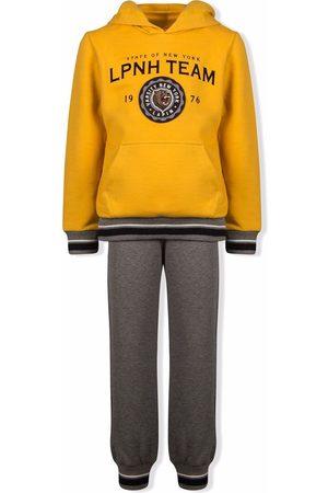 Lapin House Varsity hoodie tracksuit - Grey