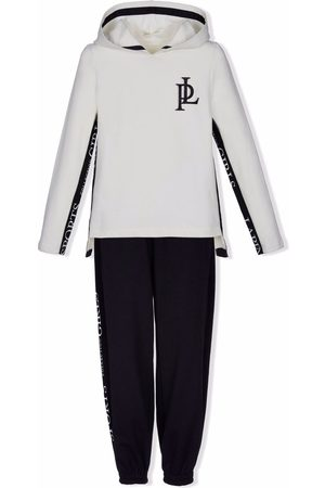 Lapin House Girls Sports Hoodies - Logo-patch hoodie tracksuit