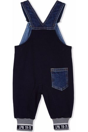 Lapin House Panelled denim dungarees