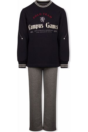 Lapin House Boys Sports Hoodies - Campus Games sweatshirt tracksuit - Grey