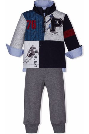 Lapin House Boys Tracksuits - Open cuff ski tracksuit - Grey