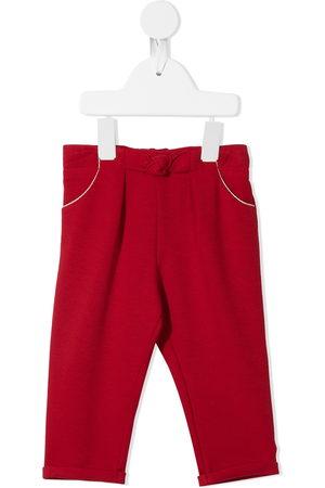 Chloé Knot-detail straight-leg trousers