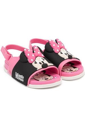 Mini Melissa Sandals - Mini print sandals