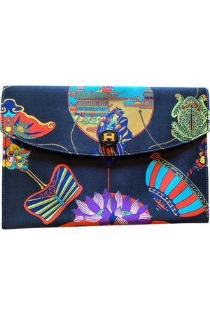 Hermès Rio silk clutch bag