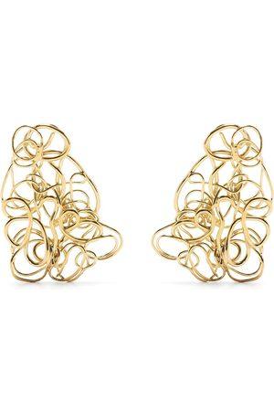 COMPLETEDWORKS Women Earrings - In the Storm of Roses earrings