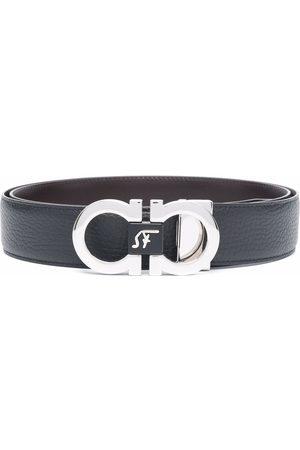 Salvatore Ferragamo Double adjustable gancici-buckle belt