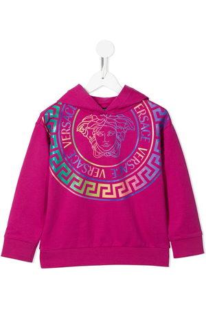 VERSACE Girls Hoodies - Medusa-print hoodie