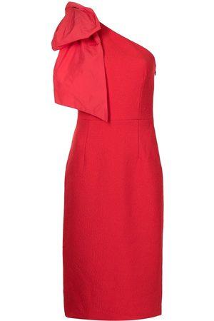 Rebecca Vallance Calla bow-detail midi dress