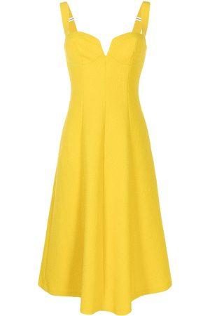 Rebecca Vallance Women Midi Dresses - Calla V-wire midi dress