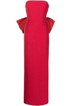 Rebecca Vallance Women Evening dresses - Calla bow-detail gown