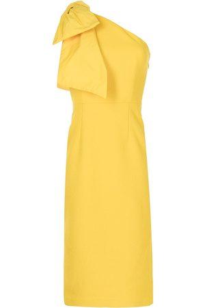 Rebecca Vallance Calla one-shoulder midi dress
