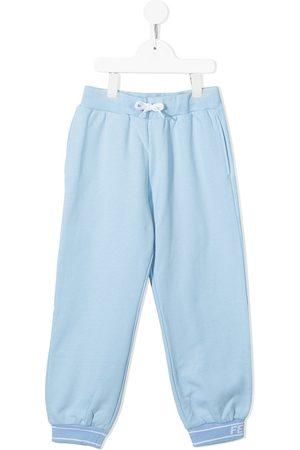 Fendi Boys Sweatpants - Drawstring cotton track pants