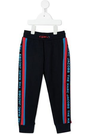 The Marc Jacobs Girls Sweatpants - TEEN logo-tape detail track pants