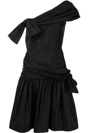 Molly Goddard Women Asymmetrical Dresses - Asymmetric-design taffeta dress