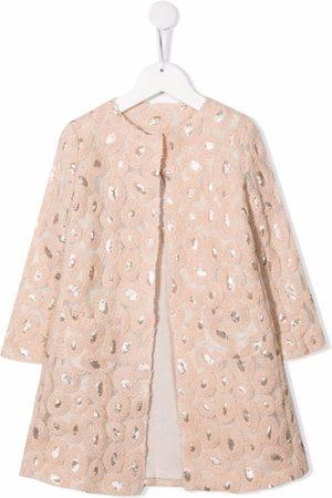 SEÑORITA LEMONIEZ Long-sleeve embroidered coat