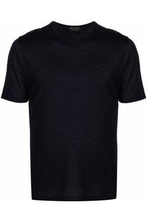 DELL'OGLIO Round-neck merino wool T-shirt