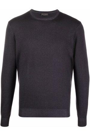 DELL'OGLIO Fine-knit rib-trimmed jumper