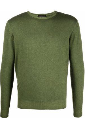 DELL'OGLIO Fine-knit ribbed-trim jumper