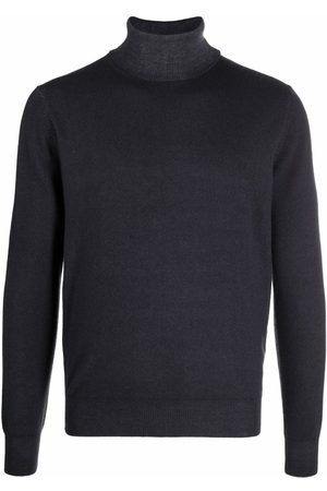 DELL'OGLIO Roll-neck rib-trimmed jumper