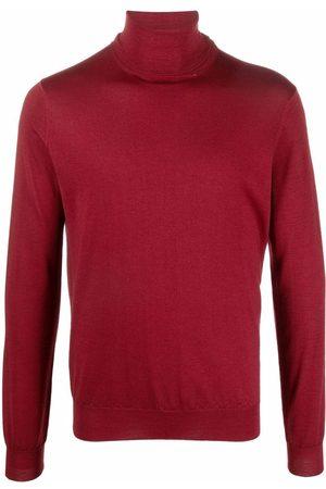 DELL'OGLIO Men Turtlenecks - Roll-neck merino-wool jumper