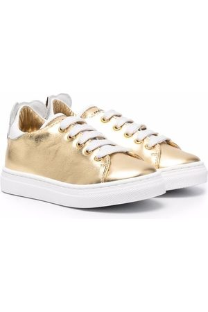 Moschino Toned lace-up sneakers