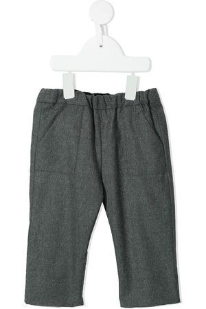 BONPOINT Chinos - Slim-cut tailored trousers - Grey