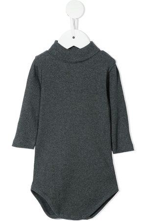 BONPOINT Ribbed long-sleeve body - Grey
