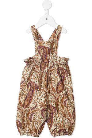 BONPOINT Baby Rompers - Paisley-print romper