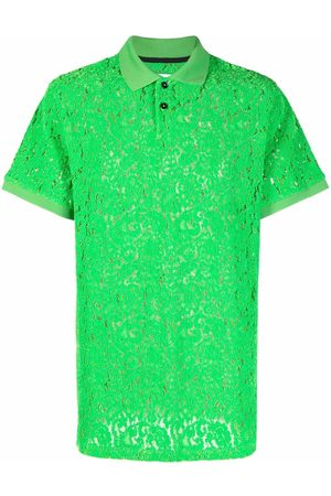 HENRIK VIBSKOV Men Polo Shirts - The Big lace polo shirt