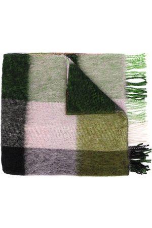 HENRIK VIBSKOV Floss check-print scarf