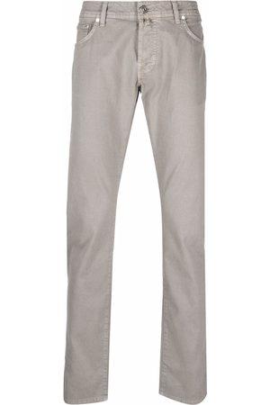 Jacob Cohen Men Skinny Pants - Slim-fit trousers - Neutrals